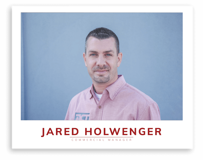 Jared Holwenger ACT COmmercial HVAC Manager